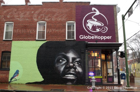 photograph of the GlobeHopper coffee shop in Richmond, VA